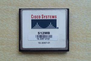 Cisco 512 MB Compact Flash