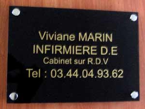 Plaque Professionnelle De Rue Plaque Medecin Notable