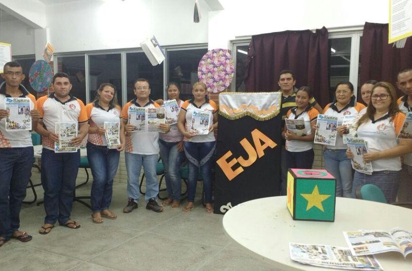 Escola Edimar Martins em Caio Prado promove constantes momentos de leituras e debates com turma da EJA