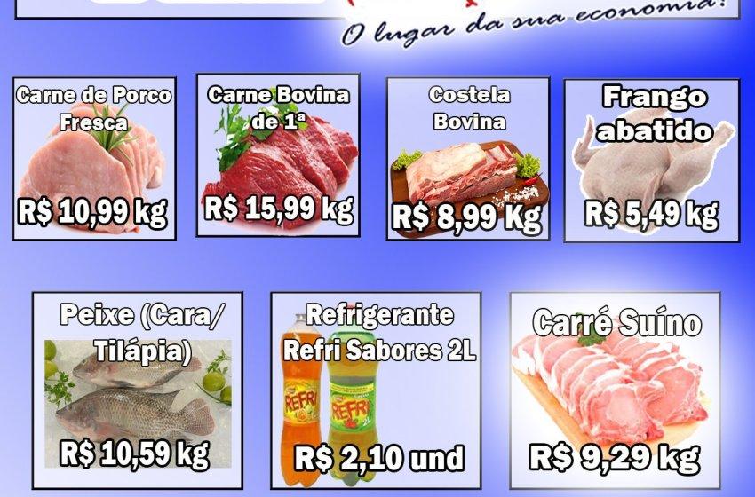 Confira as ofertas do Mercantil A.R Santos para sábado, dia 17