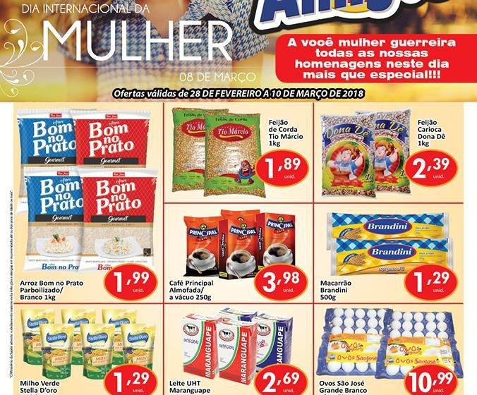 Encarte mensal do Mercantil A.R Santos em Itapiúna