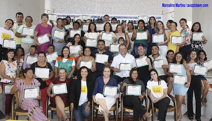 Agentes Comunitários de Saúde de Itapiúna concluem capacitação sobre Desenvolvimento Infantil