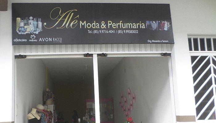 Alê Moda & Perfumaria a sua melhor opção para presentear