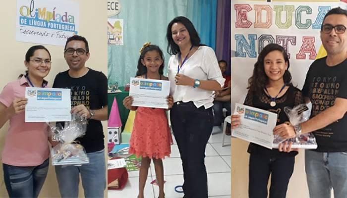 Secretaria de Educação de Itapiúna realiza premiação local da Olimpíada de Português