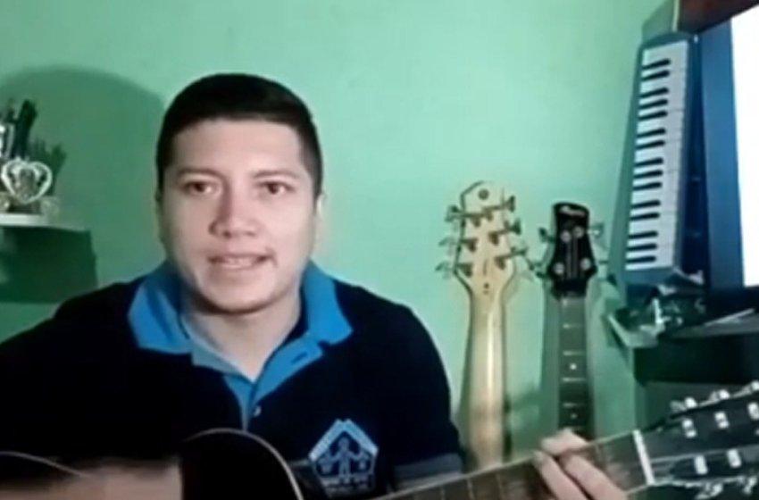 Educador de Música da OSC Ceacri de Itapiúna lança música