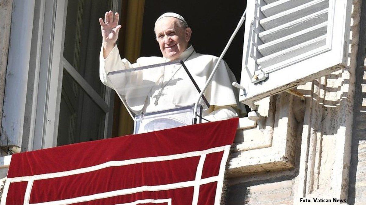 Francisco no Angelus: seremos julgados com base no amor