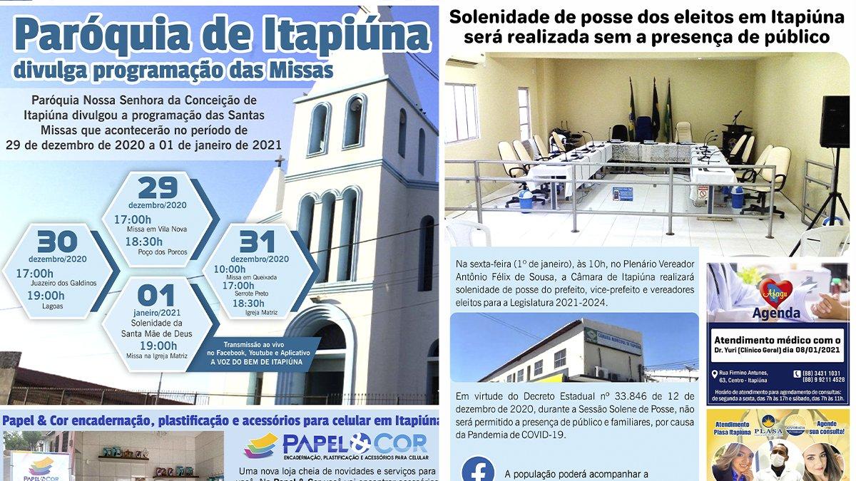 Confira a edição 65 do Jornal avozdobem.com de Itapiúna