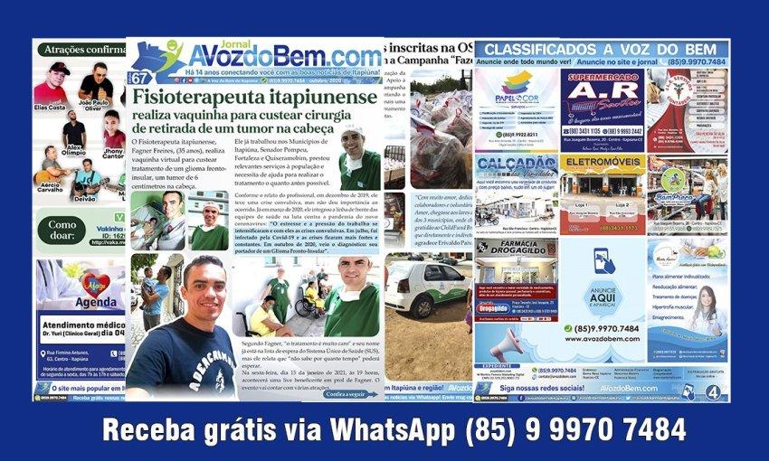 Confira a edição 67 do Jornal avozdobem.com de Itapiúna