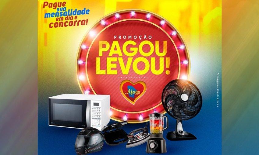Afagu lança Promoção Pagou Levou