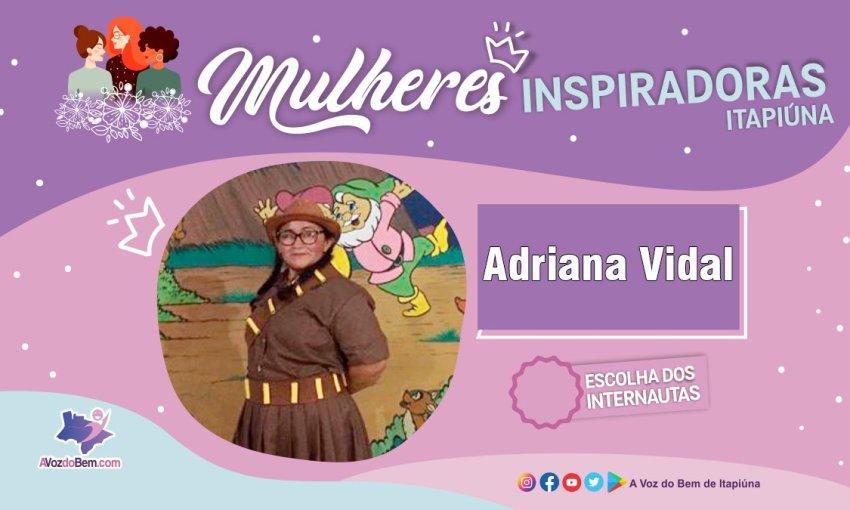 """Adriana Vidal é destaque no quadro """"Mulheres Inspiradoras de Itapiúna"""""""