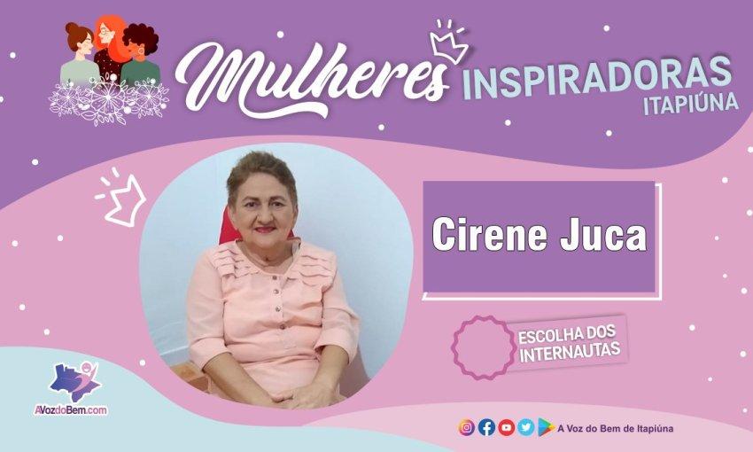 """Cirene Juca é destaque no quadro """"Mulheres Inspiradoras de Itapiúna"""""""