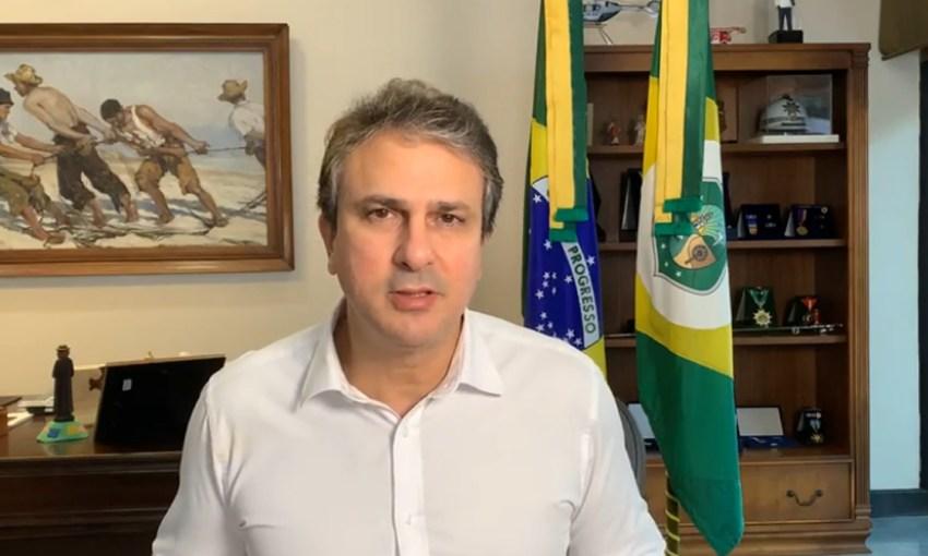 Governador Camilo informa que vacinação dos adolescentes entre 12 e 17 anos está mantida em todo o Estado do Ceará