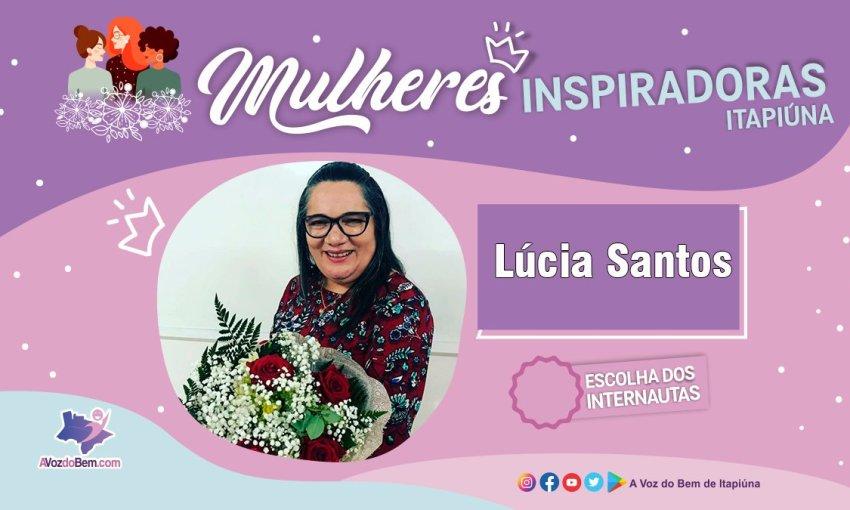 """Lucia Santos é destaque no quadro """"Mulheres Inspiradoras de Itapiúna"""""""