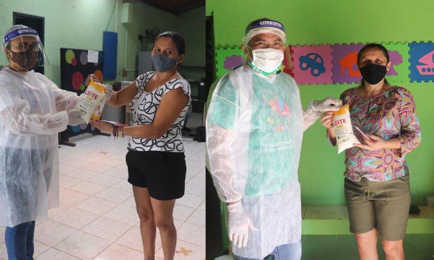 OSC CEACRI de Itapiúna distribui semanalmente 200 litros de leite do PAA
