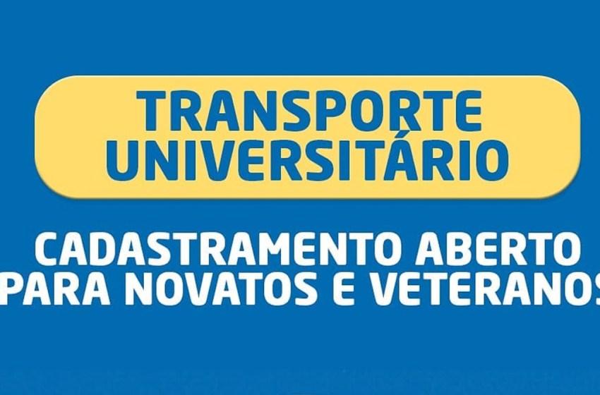 Secretaria da Educação de Itapiúna realiza cadastramento para novatos e veteranos no transporte universitário
