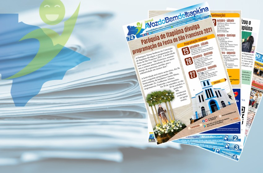 Confira a edição 74 do jornal avozdobem.com de Itapiúna