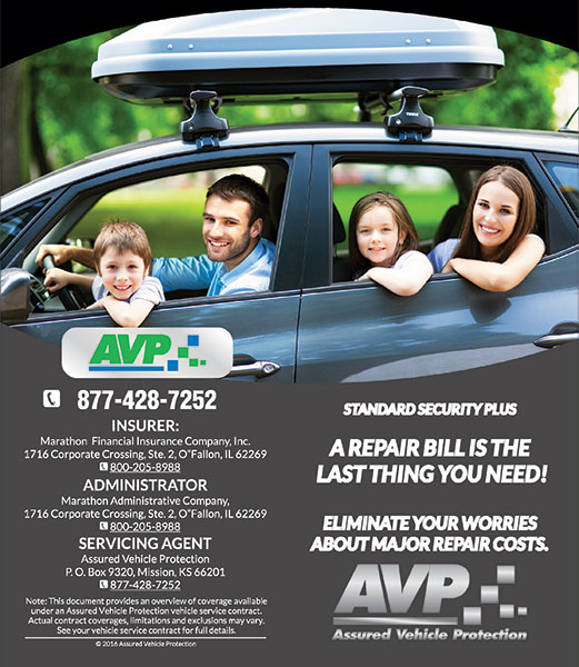 Vehicle Service Contracts - Assured Vehicle Protection