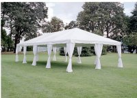 Leg Drapes for Canopies & Tents - AV Party Rental