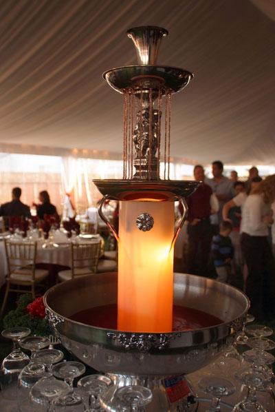 Champagne Fountains AV Party Rental