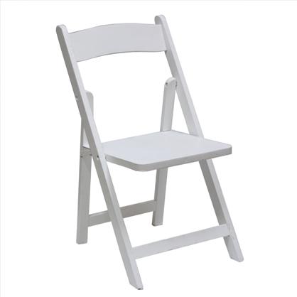 white folding chairs glider for sale children s av party rental chlidren chair wood