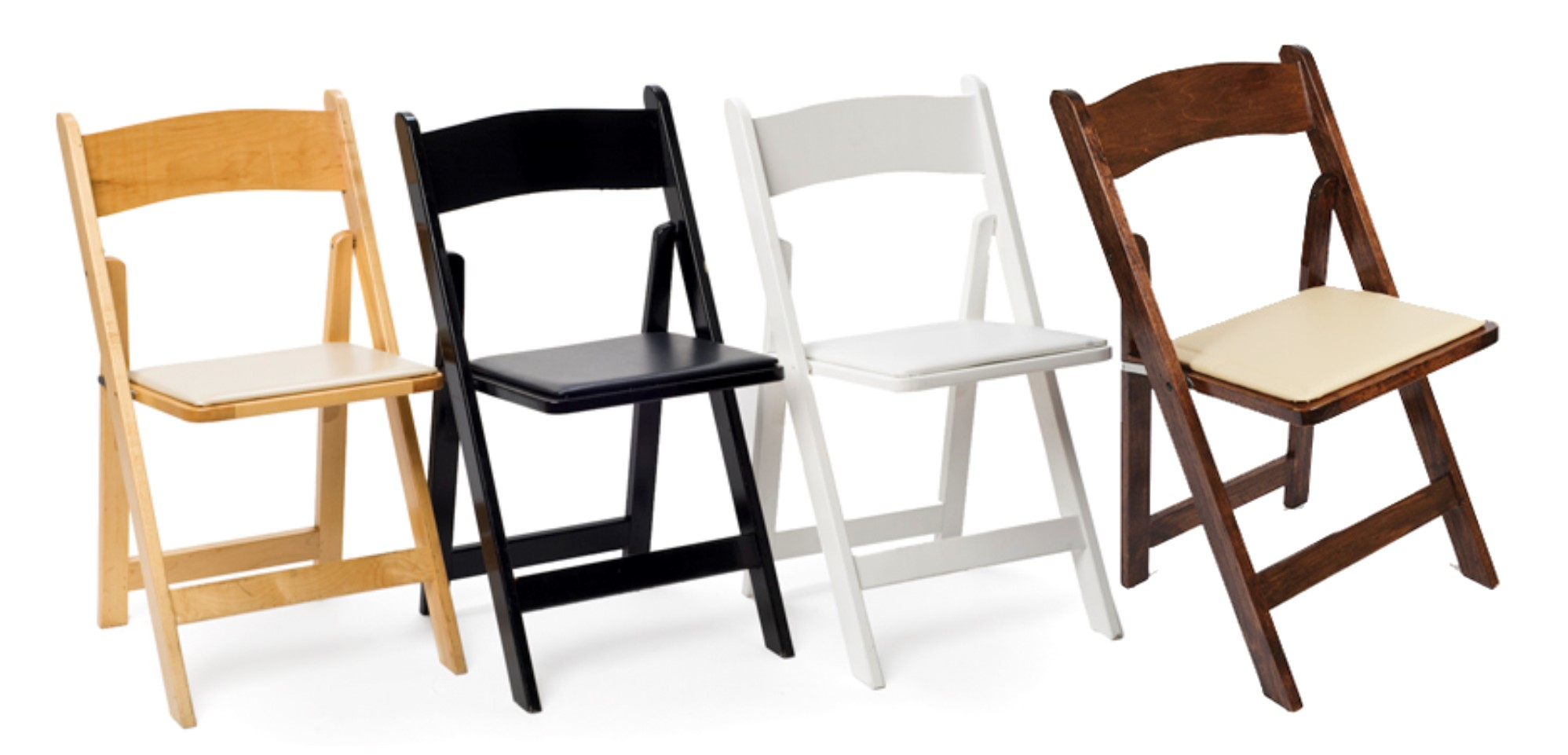 Chairs  Padded Folding Chairs  AV Party Rental