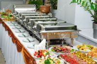 Chafing Dishes - Stainless - AV Party Rental