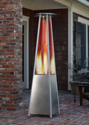 heater pyramid flame