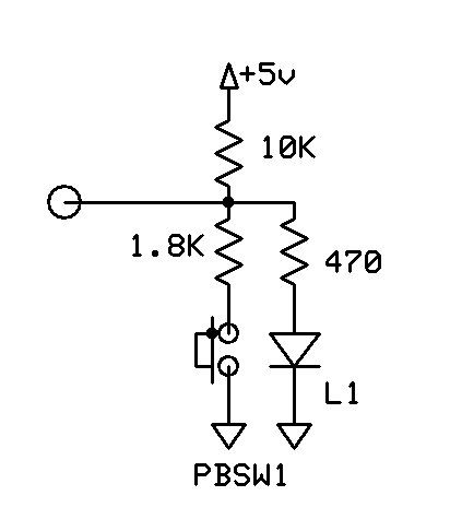 One Pin-Two functions? (Input Switch and Output LED