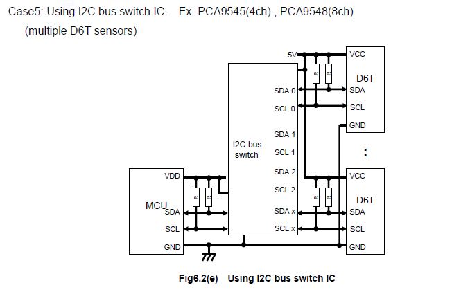 omron temperature controller wiring diagram emperor penguin how to connect two d6t thermal sensors avr freaks schematic for 2 jpg