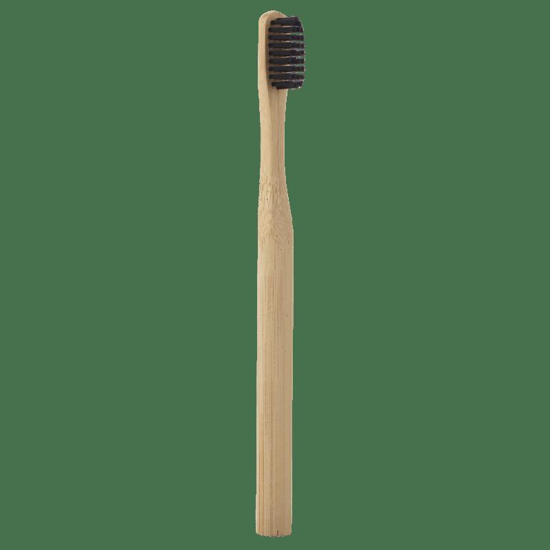 Brosse A Dents Bambou Au Charbon