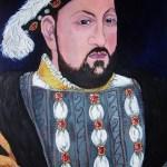 Copy of a portrait of Henry VIII in oil