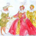 I painted a picture of a giant cockroach in elizabethan clothing specifically to annoy patrick.