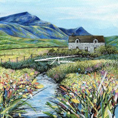 Avril Thomson Smith Croft House Painting Foula
