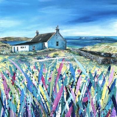 Burra Avril Thomson Smith acrylic painting