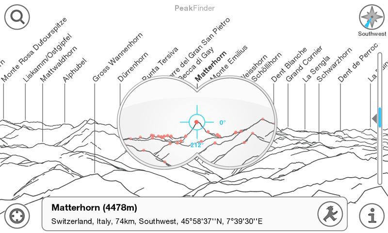 PeakFinder Alps: esploriamo le famose vette su Android