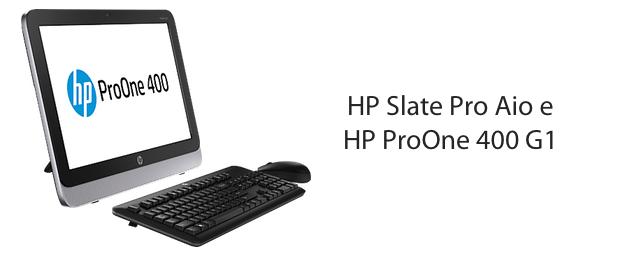 HP Slate Pro AiO e ProOne 400 AiO G1, Caratteristiche e