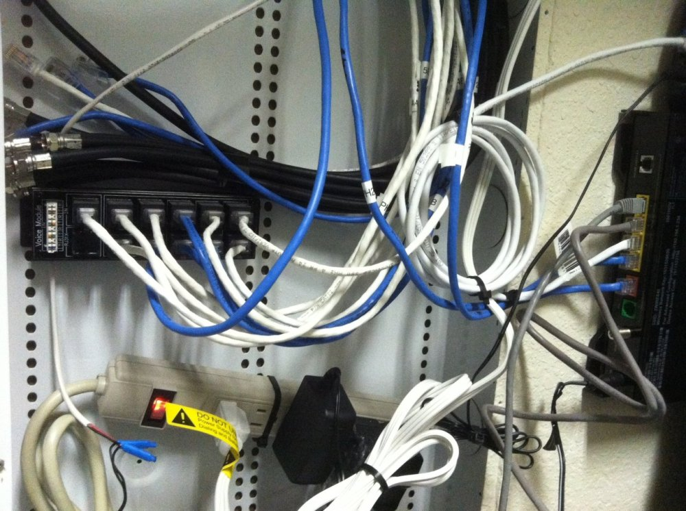 medium resolution of i have att u verse a bunch of ethernet cables plugged into something like a switchboard maybe it s not