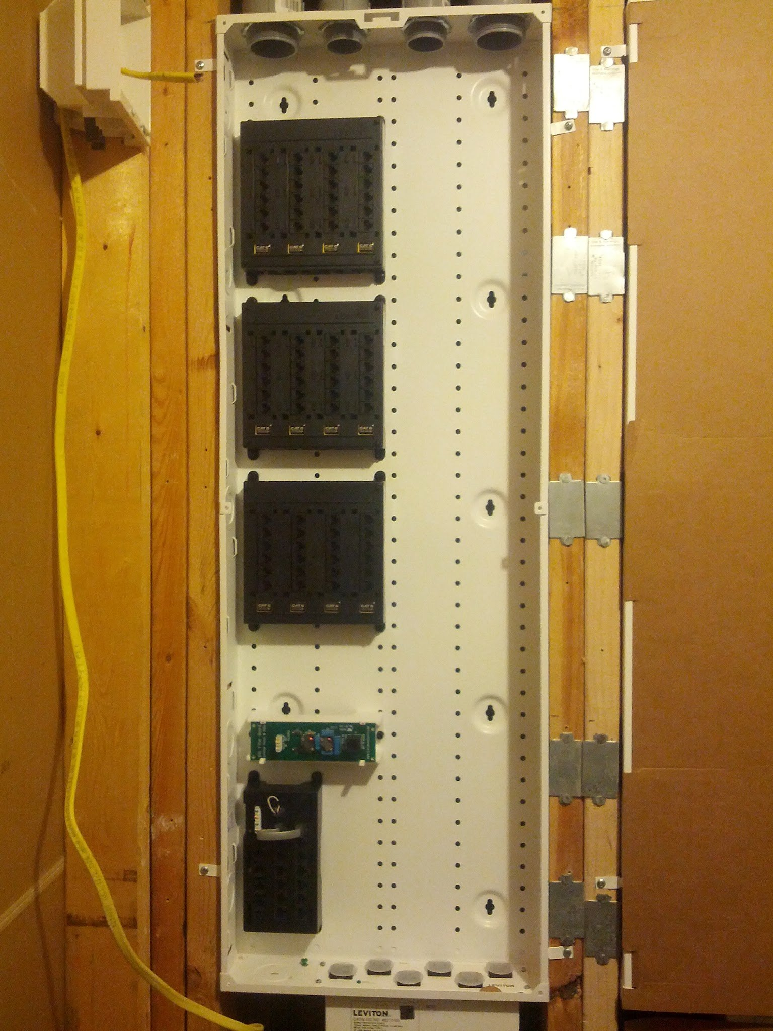 hight resolution of here is the 24 port switch that is dedicated to the rack way more ports than i ll need but it was rack mountable and i got a great deal on it