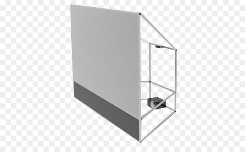 lerret bakprojeksjon / diffusjon