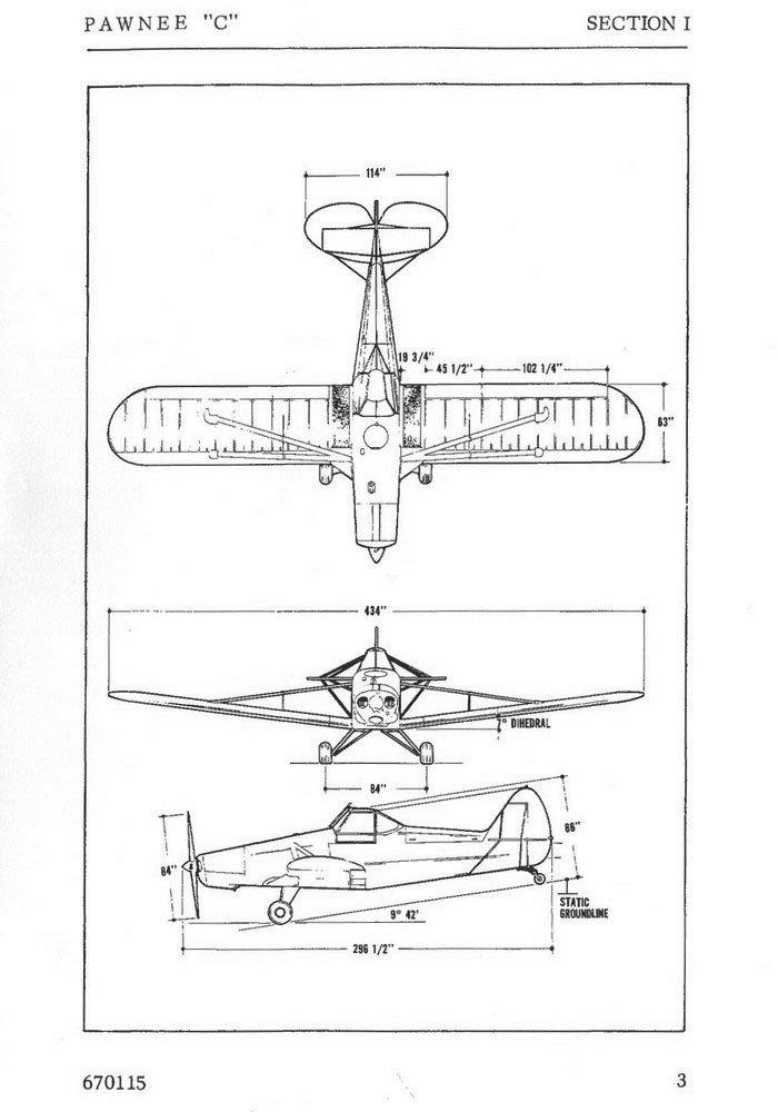 Руководство владельца самолета Piper PA-25 Pawnee C