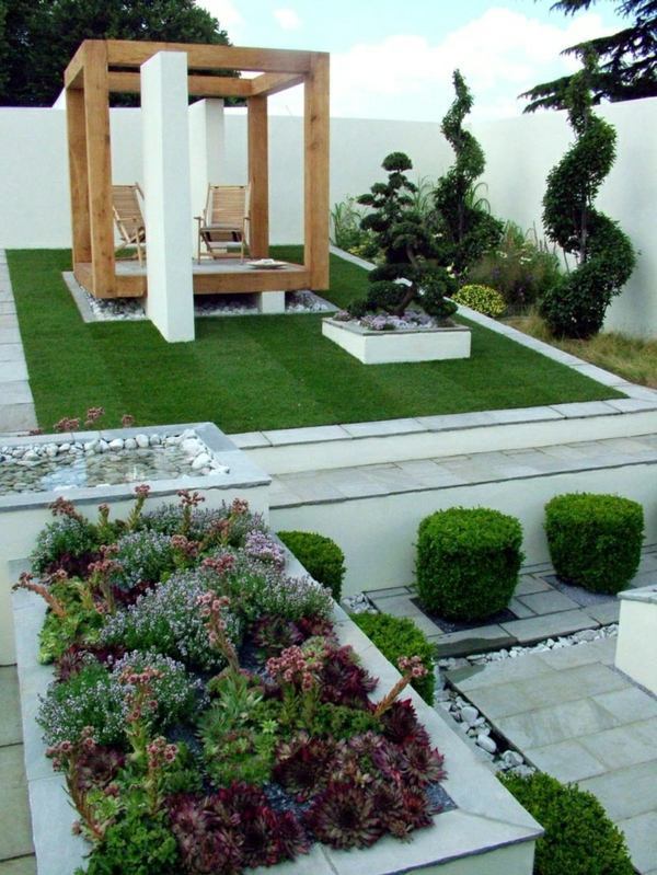 25 trendy ideas for garden and landscape  modern garden
