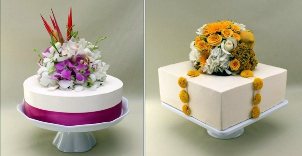 Cheap Two Tiered Wedding Cakes Interior Design Ideas