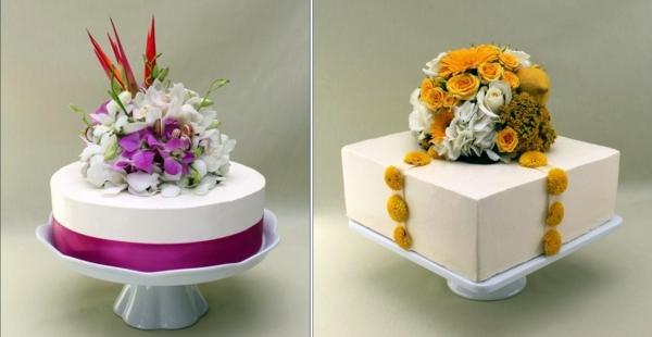 Cheap twotiered wedding cakes  Interior Design Ideas
