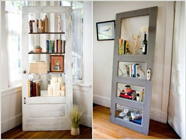 Old doors reuse  DIY wooden furniture  Interior Design