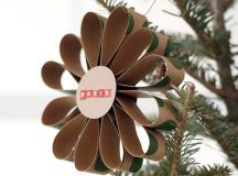 Christmas decoration made of paper – 18 cool creations for ...