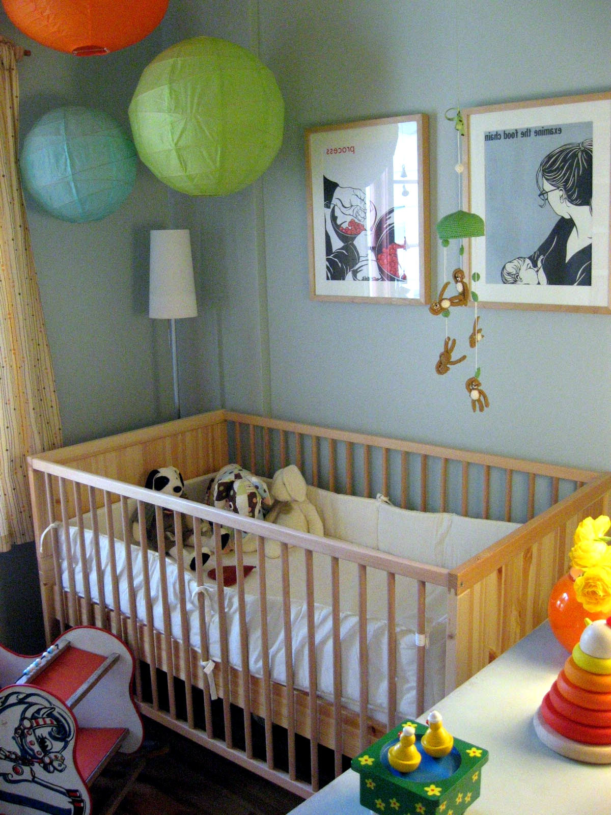 Baby Room Decorating Ideas with Paper Lanterns  Interior Design Ideas  AVSOORG