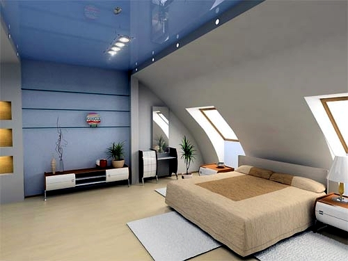 Bedroom In The Attic Proposal For Compact Dressing Room