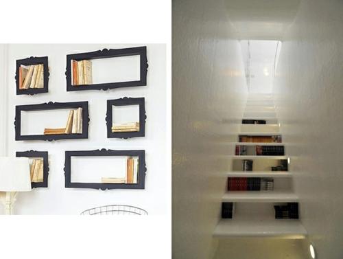 Creative Ideas For Books Storage – Original Home Library Design