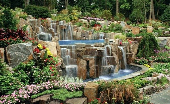 Swimming Pool In The Garden – Landscape Ideas For Swimming Pools