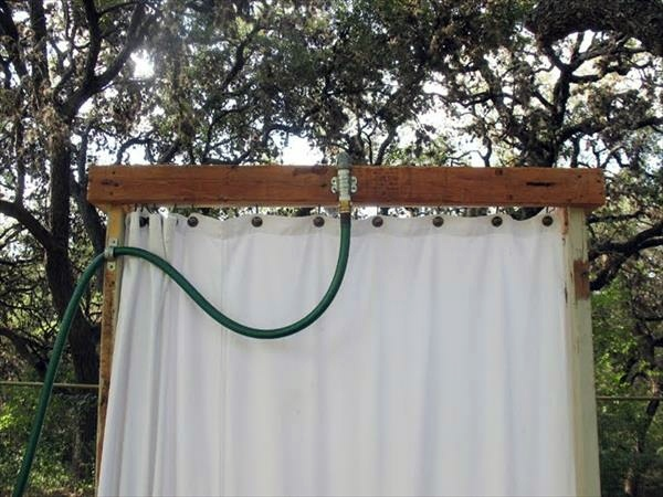 build shower itself cool diy garden